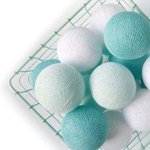 Cotton Ball Lights mint