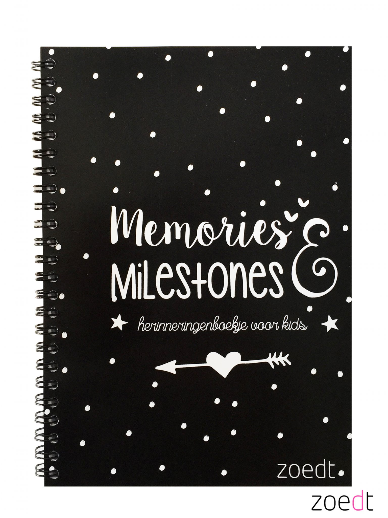 Memories en Milestones boekje van Zoedt -wonen en lifestyle webshop no28wonen
