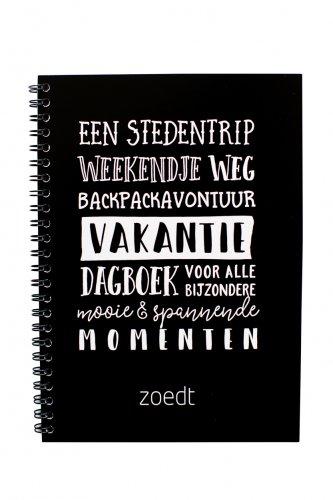 Vakantie dagboek van Zoedt -wonen en lifestyle webshop no28wonen