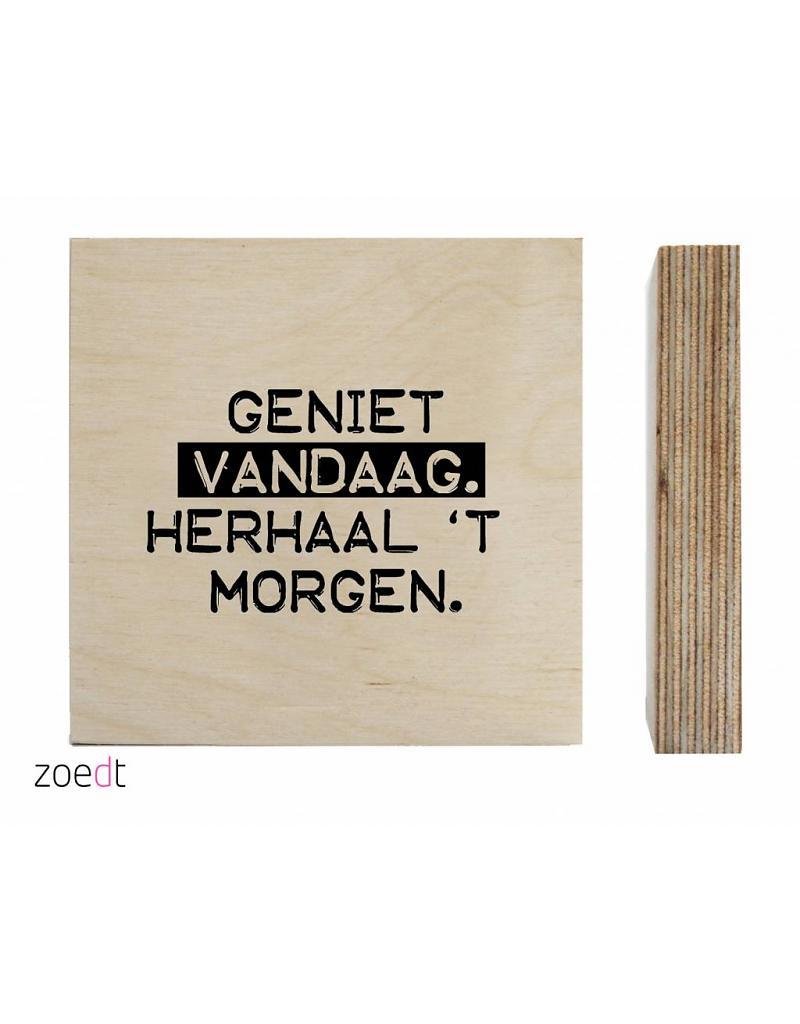 Houtblok van Zoedt -wonen en lifestyle webshop no28wonen