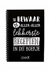 Receptenboek van Zoedt -wonen en lifestyle webshop no28wonen