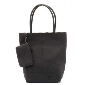 Zebra natural bag kartel black - wonen & lifestyle