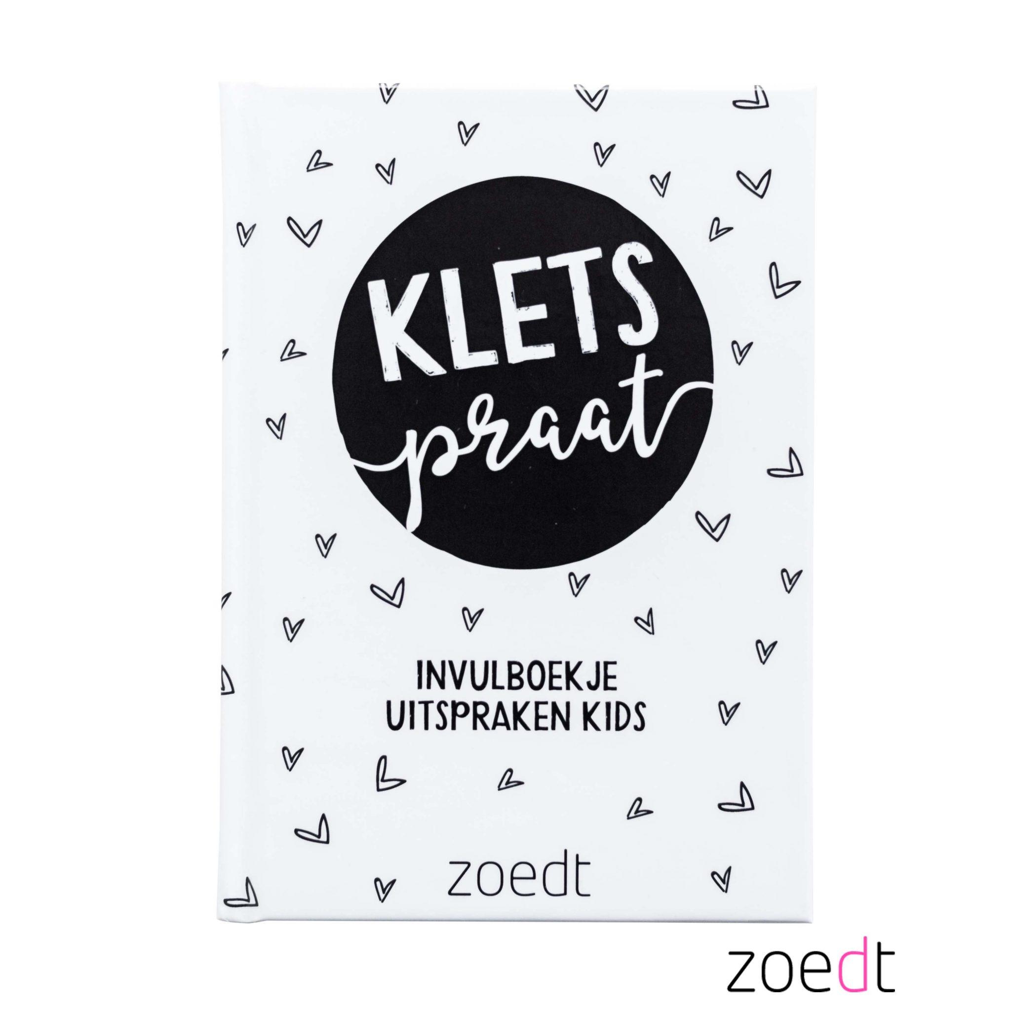 kletspraat boekje van Zoedt -wonen en lifestyle webshop no28wonen