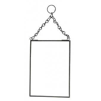 Madam stoltz spiegel 13x18 cm zwart no 28 wonen for Spiegel 01 18