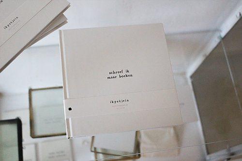 k pak je in notitieboekje schreef ik maar boeken