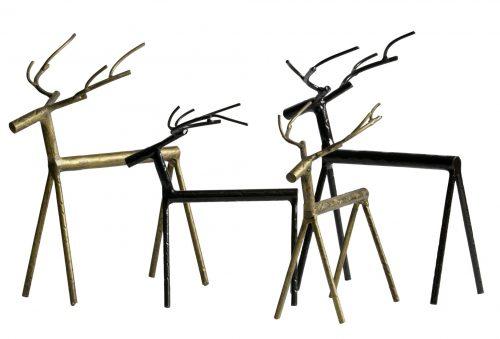 Rudolph zwart metalen hert be pure
