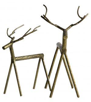 Rudolph metalen hert brass be pure