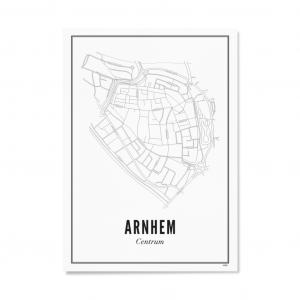Poster Arnhem centrum van Wijck -wonen en lifestyle webshop no28wonen