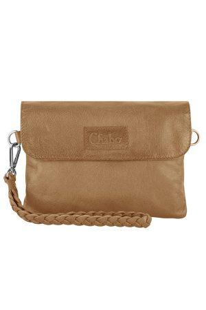 Chabo bags Bink style clutches Light cognac - wonen & lifestyle