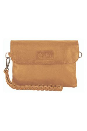 Chabo bags Bink style clutches Indian Ocher - wonen & lifestyle