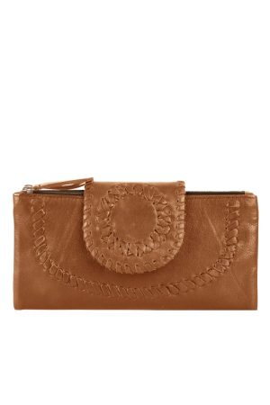 Chabo bags Ladies Wallet Indian Ocher - wonen & lifestyle