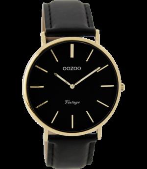 Oozoo horloge C9300 zwart - wonen & lifestyle