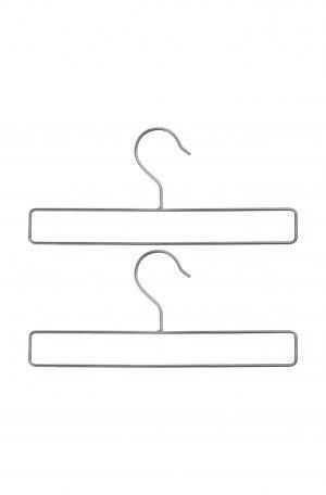 VTwonen hangers metaal zwart set A4