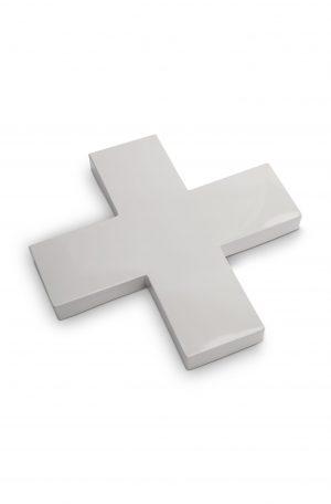 VTwonen metaal grijs kruis