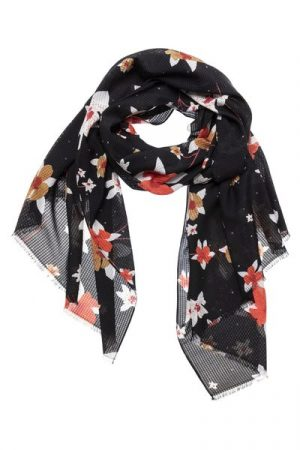 Yaya sjaal bloemenprint - wonen & lifestyle