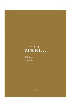 zusss a3 poster zooo no28 wonen en lifestyle