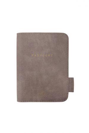 Zusss paspoorthoesje warm grijs - Wonen & Lifestyle
