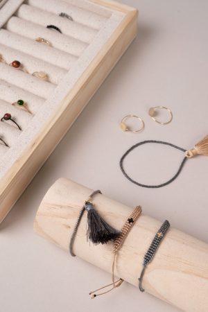 Zusss kralenarmbandje met kwastje - wonen & lifestyle