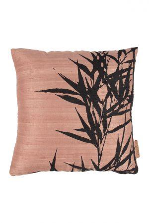 Zusss Kussen met bamboe print - wonen & lifestyle