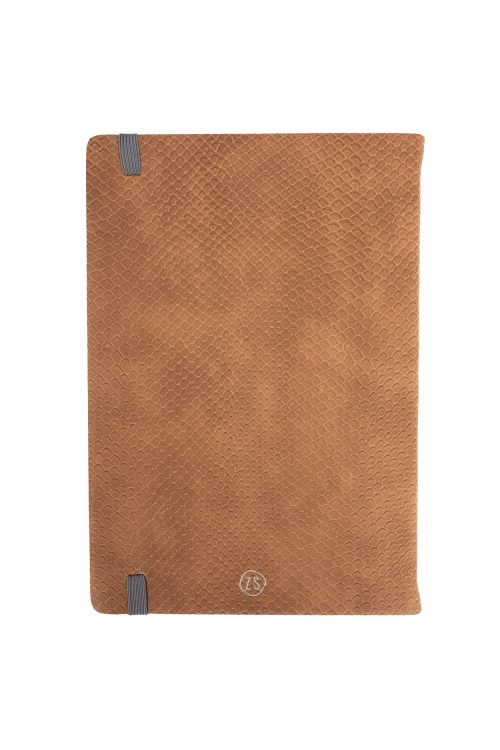 zusss notitieboek geluk bruine schub no28 wonen en lifestyle