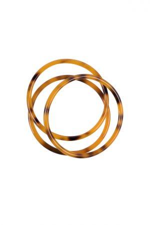 Zusss set armbanden hoornlook oranje - wonen & lifestyle