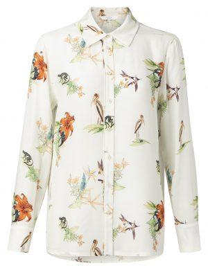 jungle print blouse Yaya