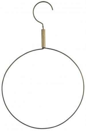 madam Stoltz round hanger brass no28 wonen en lifestyle