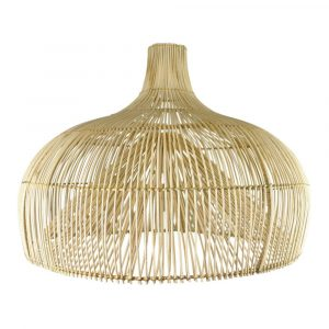 Earthware lamp rotan naturel Maggie M - wonen & lifestyle