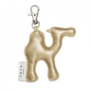 sleutelhanger kameel goud