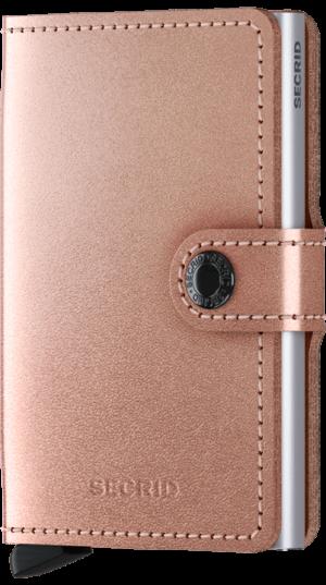 Secrid miniwallet metallic rose - wonen & lifestyle