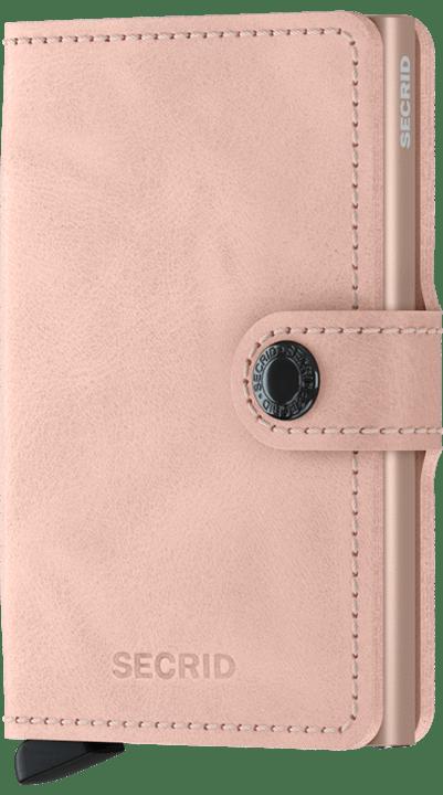 Secrid miniwallet vintage rose - wonen & lifestyle