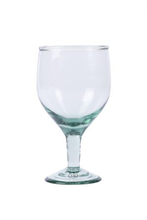 Wijnglas gerecycld glas