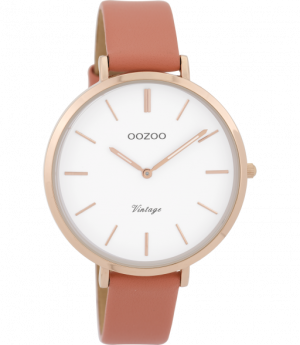 Oozoo horloge vintage peach C9388