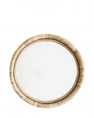 madam Stoltz spiegel bamboe rond no28 wonen en lifestyle