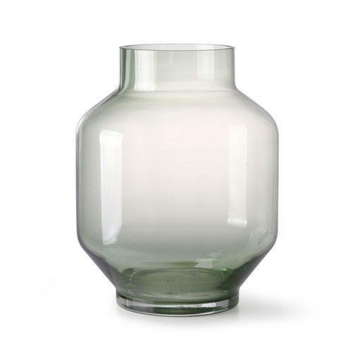 hkliving vaas glas groen L no28 wonen en lifestyle