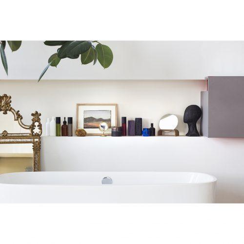 HK living spiegel op houten standaard no28 wonen en lifestyle