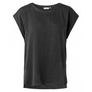 yaya basic t-shirt zwart no28 wonen en lifestyle