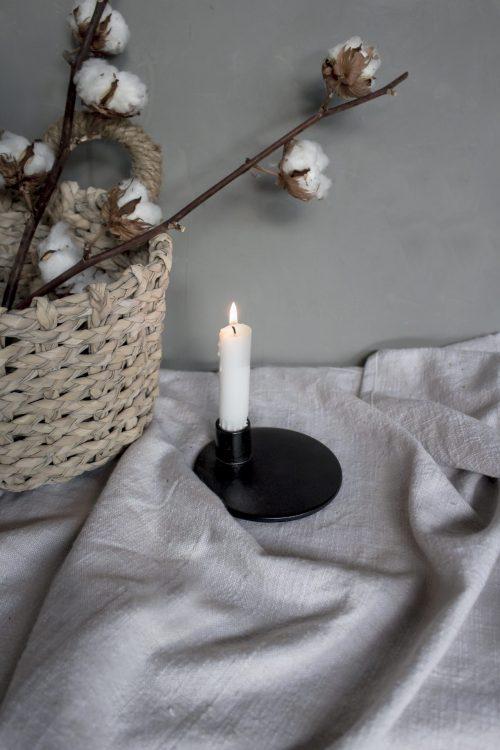 smedsbo kandelaar mini zwart no.28 wonen