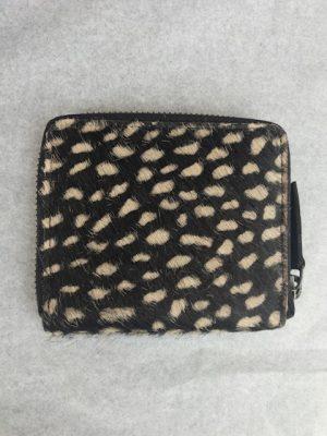 Wallet zwart met stippen No.28 Wonen & lifestyle