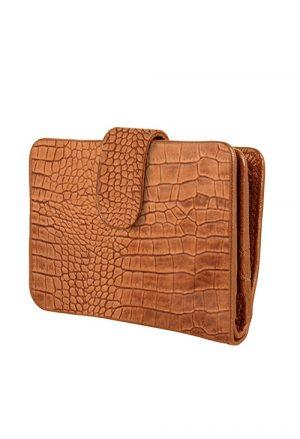 chabobags lola wallet croco camel no.28 wonen dordrecht