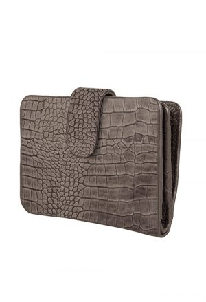 chabobags lola wallet croco elephant grey no.28 wonen dordrecht