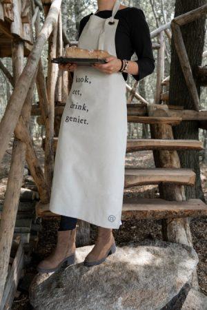 Zusss keukenschort kook krijt no28wonen
