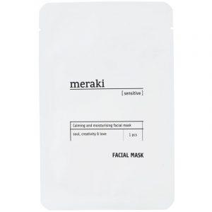Gezichtsmasker van Meraki voor de gevoelige huis -wonen en lifestyle webshop no28wonen