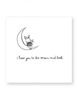 tegeltje van Jots keramiek To the moon -wonen en lifestyle webshop no28wonen