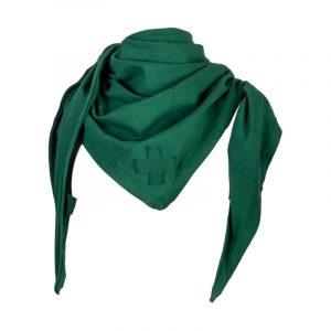 groene sjaal van stapelgoed