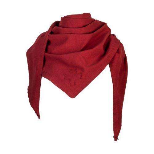rode sjaal van Stapelgoed