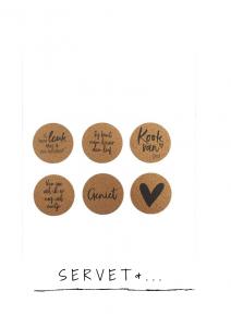 Servet en tafelversiering