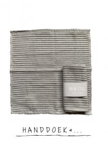 Handdoek & theedoek