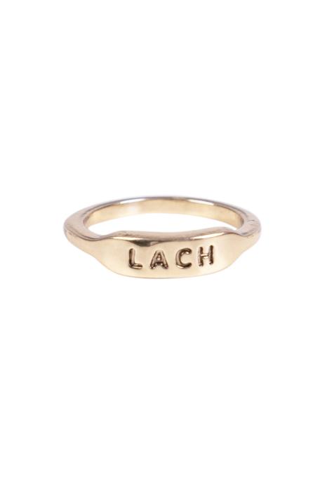 Zusss ring lach goud no28wonen