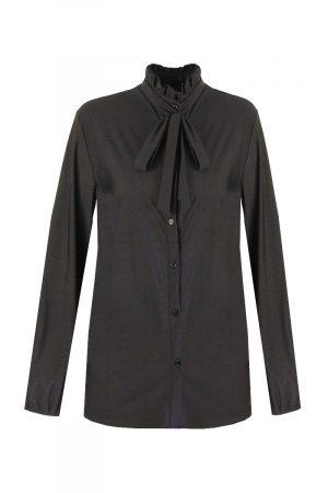 G-maxx travel blouse aubergine met zwarte stippen no28wonen